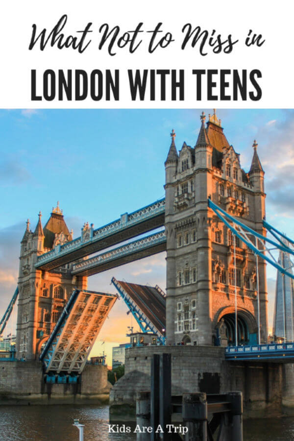 London is the perfect place to visit with kids and teens If your children are older, you'll want to check out this ultimate guide to the best things to do in London with teens. - Kids Are A Trip
