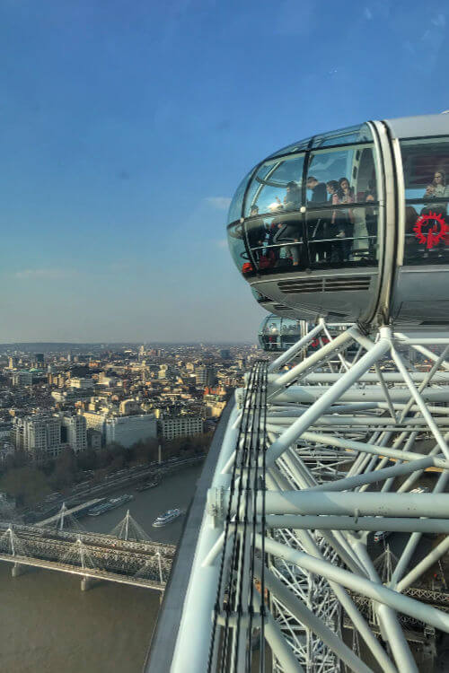 View from London Eye - Kids Are A Trip