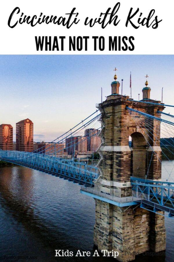 If you are wondering what to do in Cincinnati, Ohio with kids, we have you covered. With an amusement park, a castle, and outdoor adventures, it is one place your family is sure to love. - Kids Are A Trip #Cincinnati #Ohio #familytravel #Midwest