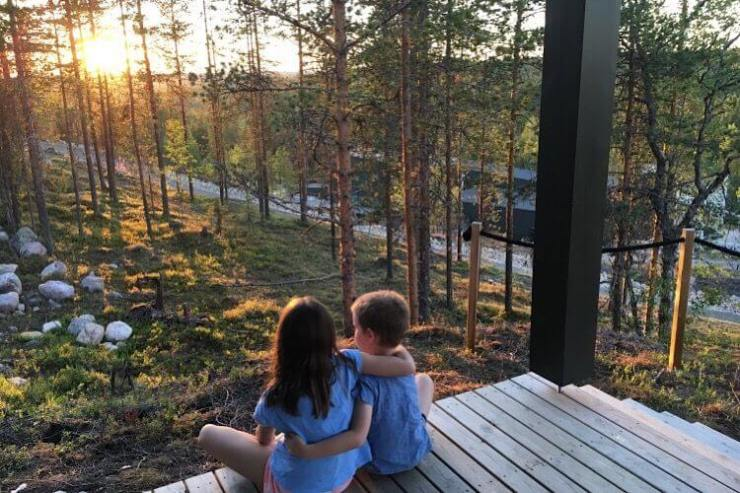 Watching the Midnight Sun Finland-Kids Are A Trip