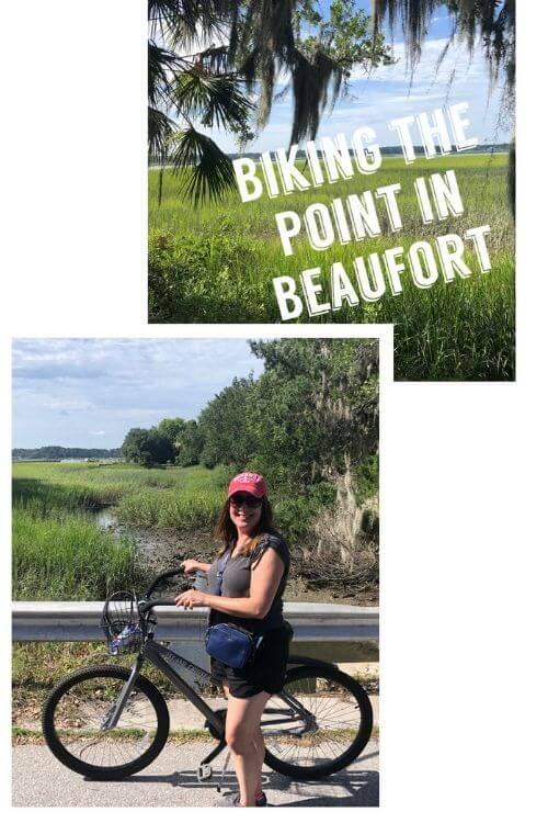 Biking is an awesome way to explore Beaufort, SC.