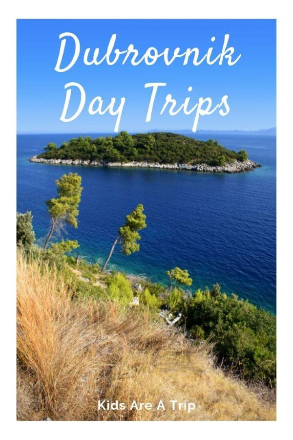 While there are plenty of things to do in Dubrovnik, sometimes the crowds can be overwhelming. Here are our choices for best day trips from Dubrovnik for some peace and quiet. - Kids Are A Trip #Dubrovnik #Croatia #familytravel #Mediterranean