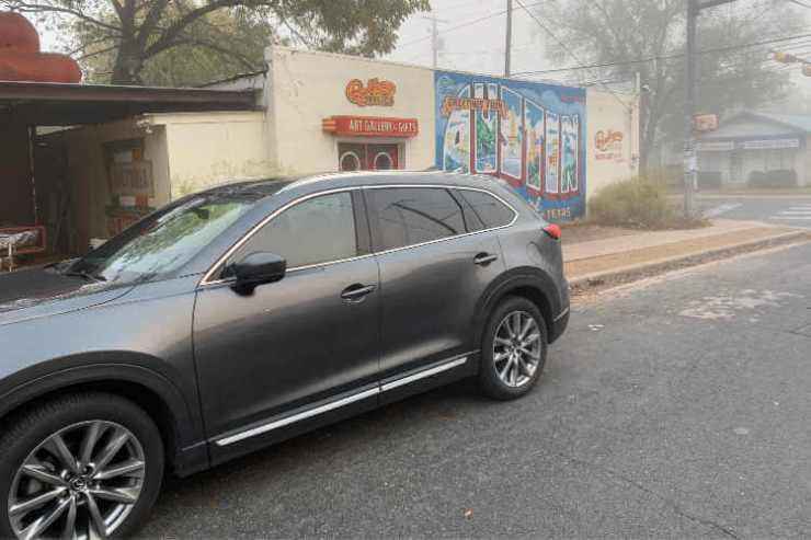 Greetings from Austin Street Art with Mazda CX-9