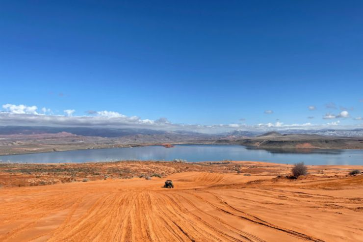 View of Sand Hollow State Park Utah-Kids Are A Trip