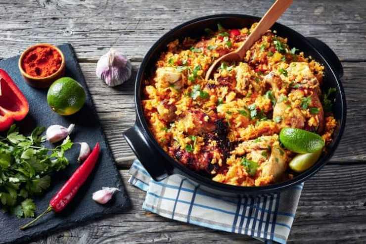 Arroz con pollo-Puerto Rican rice recipe