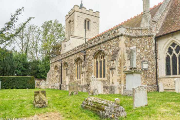 Grantchester church UK