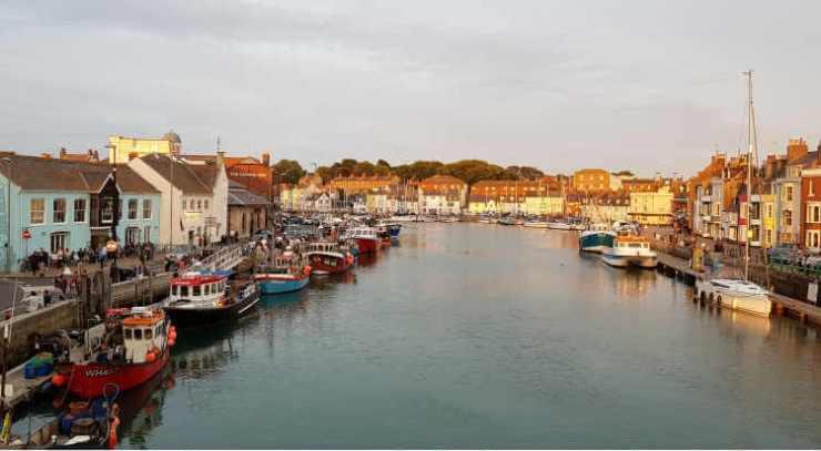 weymouth harbour uk