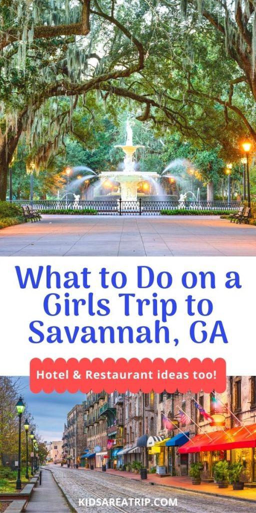 Savannah Girlfriend Getaway Guide-Kids Are A Trip