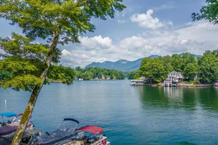 Lake Lure in North Carolina summer vacation-Kids Are A Trip