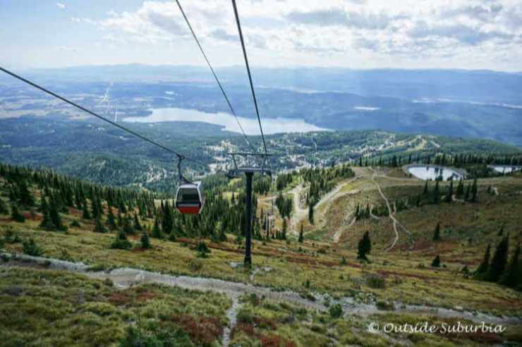 Whitefish gondola Montana mountain vacation-Kids Are A Trip