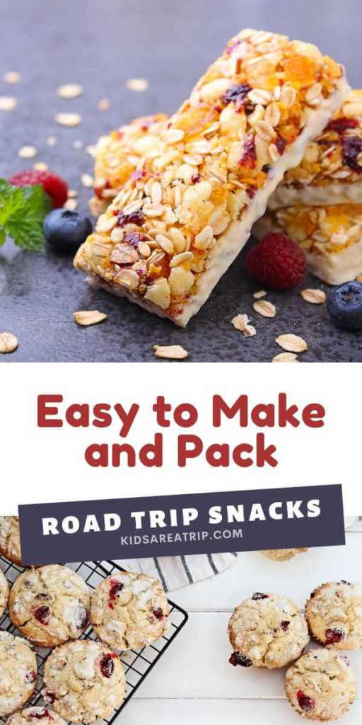 Easy to Make and Pack Road Trip Snacks