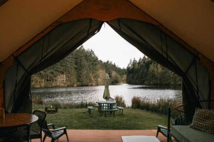 Lakedale Resort glamping- Kids Are A Trip
