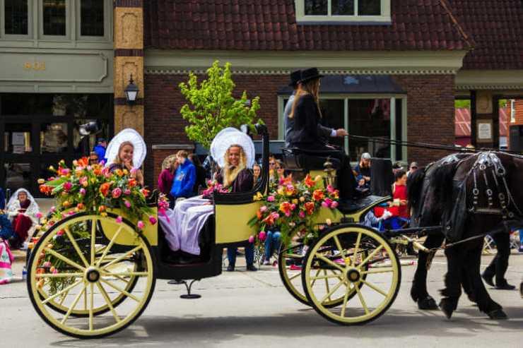Pella Iowa Tulip Time Festival-Kids Are a Trip