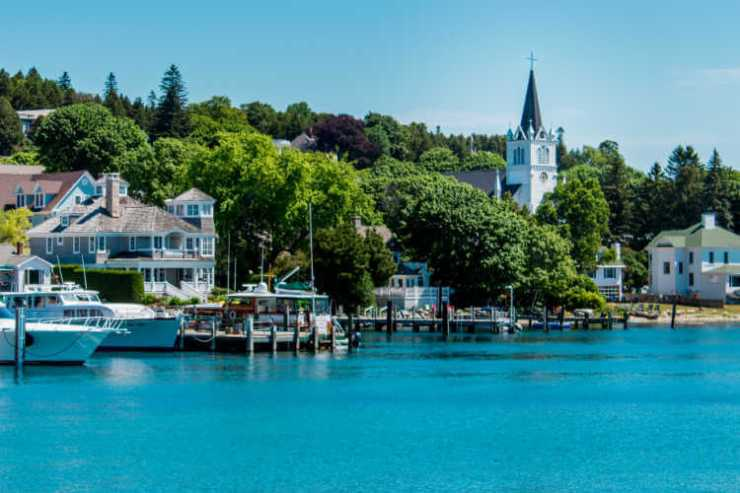 Ste Annes Church Mackinac Island Michigan-Kids Are A Trip