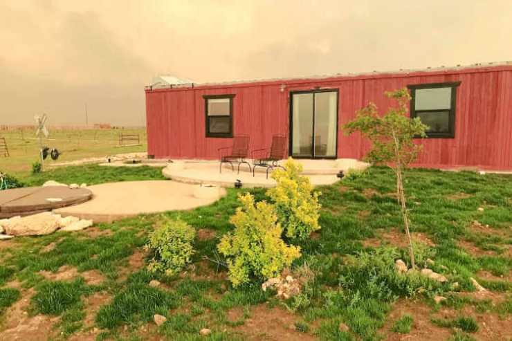 Boxcar for rent Texas