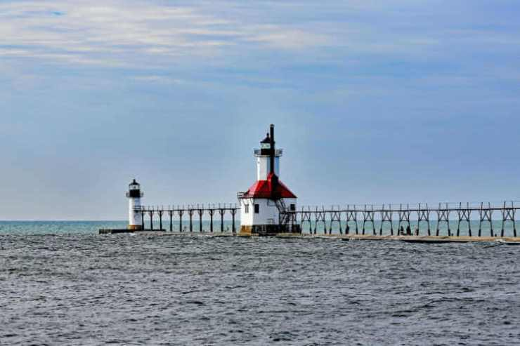 St Joseph Michigan Lighthouse - Kids Are A Trip