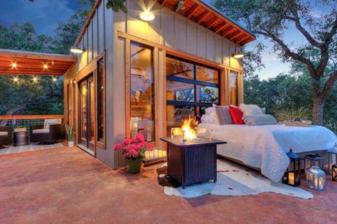 The Glass House Texas vacation rental