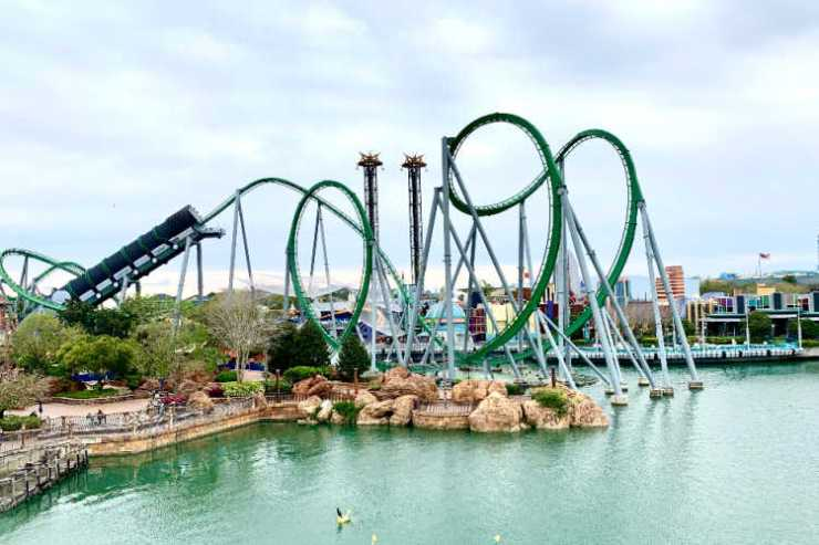 Universal Islands of Adventure roller coaster-Kids Are A Trip