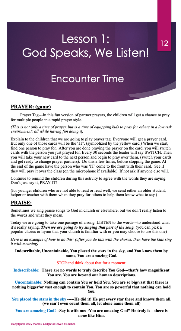 Encounter Time 1