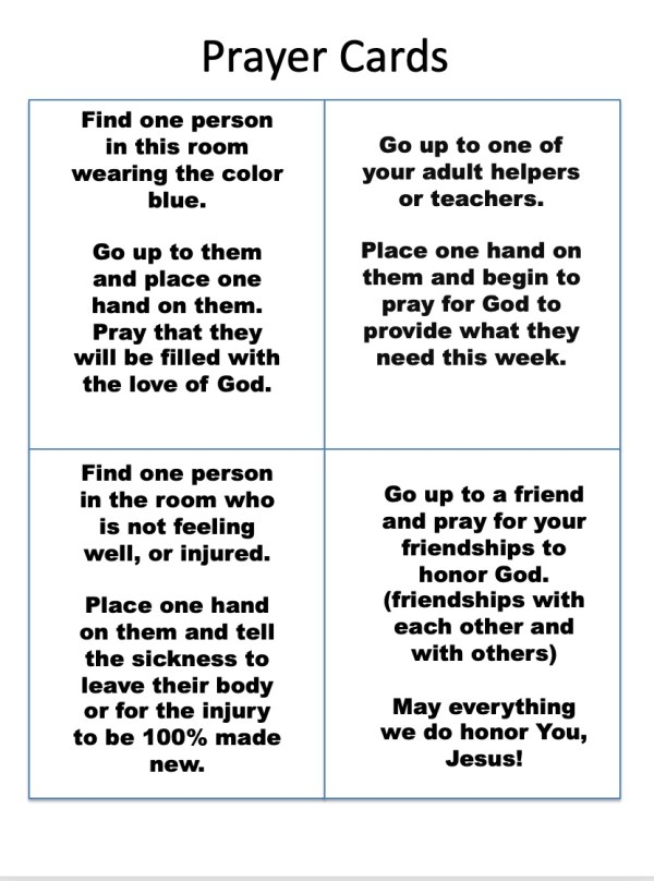 Prayer Cards 2