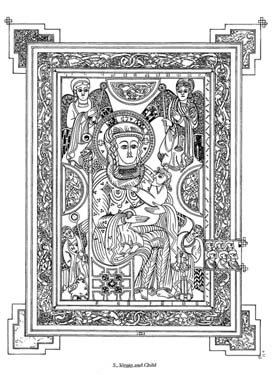 Book of Kells Fine Art Coloring