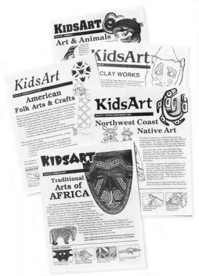 KidsArt Crafts Set