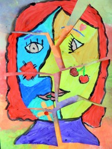 Picasso Cubism faces
