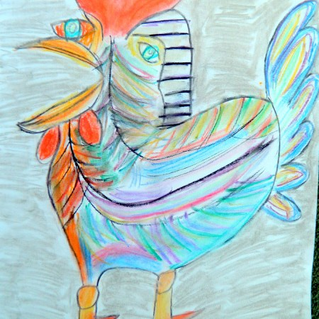 Picasso's Cockerel