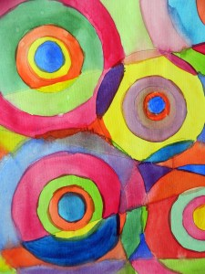 Delauney style circles