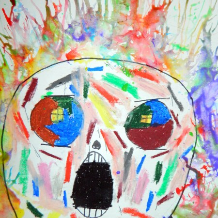 The Scream! with blowpaint
