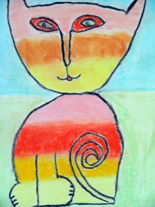 Laurel Burch cat