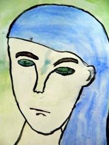 Picasso's Blue Period