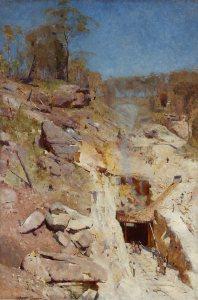 Artist : Ena Joyce (Australia, b.1925) Title : Date : (circa 1949) Medium Description: oil on plywood Dimensions : Credit Line : Purchased 1949 Image Credit Line : Accession Number : 832