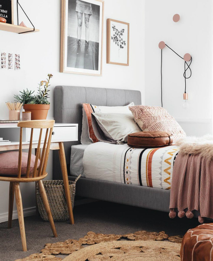 10 Scandinvian Teen Bedroom Decor Ideas For All Styles ... on Teenage Bedroom Ideas  id=73739