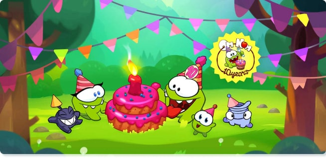 Om Nom Cartoons | Om Nom Stories | Slider image for Kids TV Shows, Best Cartoons for kids, baby songs, stories, arts and crafts, edutainment | utube