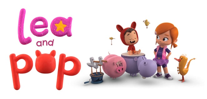 Lea and Pop | Slider image for Kids TV Shows, Best Cartoons for kids, baby songs, stories, arts and crafts, edutainment | utube