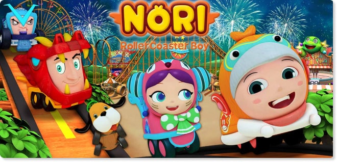 Nori | Slider image for Kids TV Shows, Best Cartoons for kids, baby songs, stories, arts and crafts, edutainment | utube