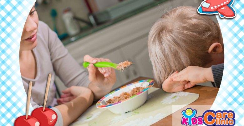 مشكلات الأكل لطفل السنتين