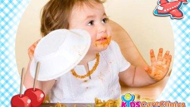 التصرفات السلبية للأطفال أثناء الطعام