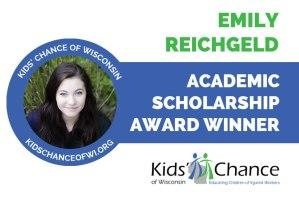 kidschanceofwisconsin-scholarship-award-emily-reichgeld