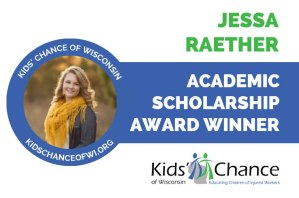 kidschanceofwisconsin-scholarship-award-jessa-raether