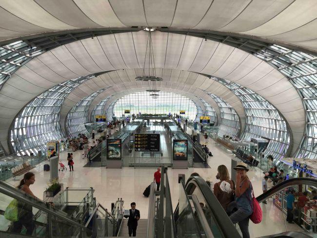 Bangkok Airport Gate B