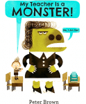 My Teacher is a Monster book cover - link to story resources page