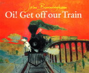 Oi Get Off Our Train book cover - link to story resources page