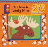 One Moose, Twenty Mice book cover - link to story resources page
