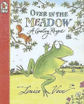 Over in the meadow book cover - Louise voce - kids club english