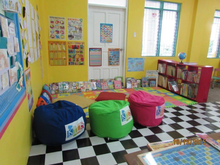 KIDS Toy Corner_ reading area