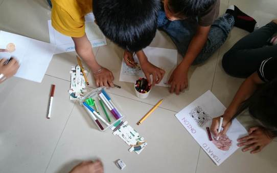 SAI KIDS Foldscope Club Experiments
