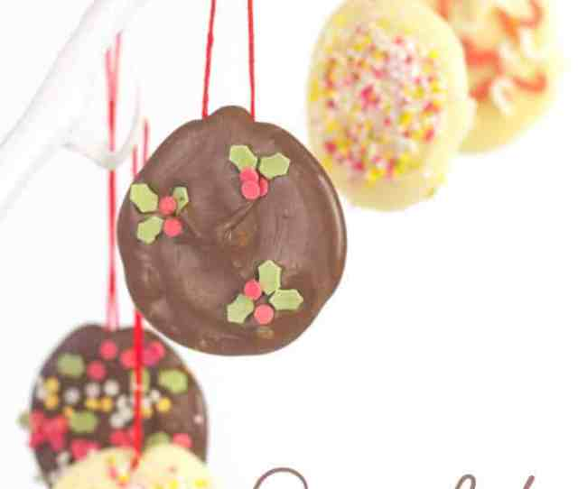 Homemade Chocolate Tree Decorations Are So Easy To Make Kids Will Love Having Edible Chocolate