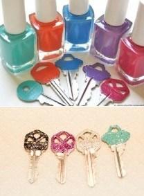 glitter-keys